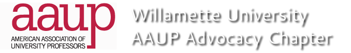 Willamette University AAUP Advocacy Chapter